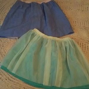 Cat & Jack Reversible Skirts